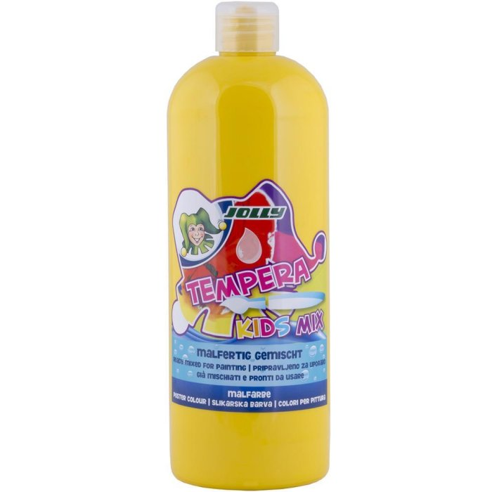 JOLLY Super Tempera Malfarben 1 Liter hellgelb