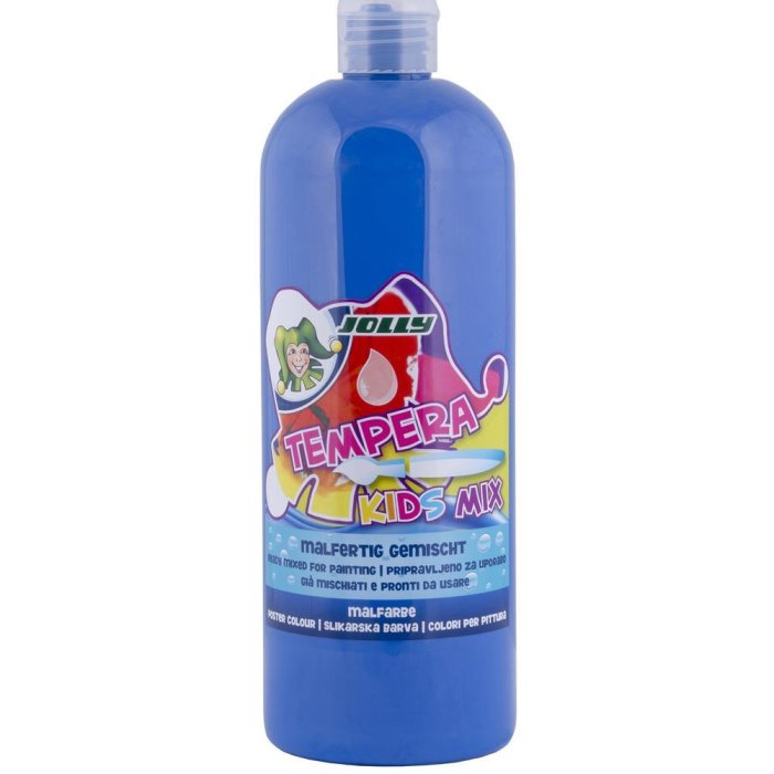 JOLLY Super Tempera Malfarben 1 Liter ultramarinblau