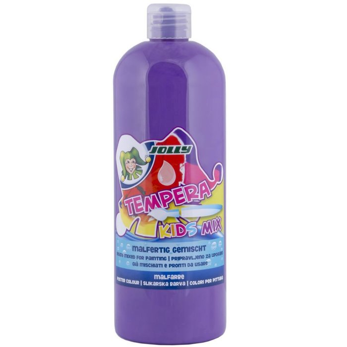 JOLLY Super Tempera Malfarben 1 Liter lavendel