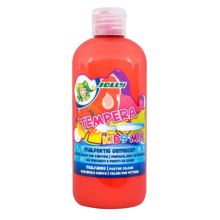 JOLLY Super Tempera Malfarben 500ml zinnober