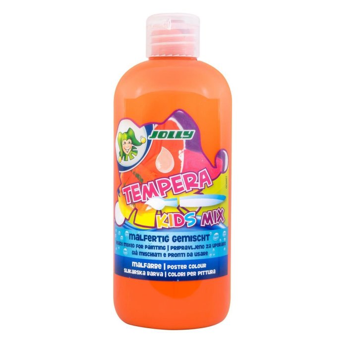 JOLLY Super Tempera Malfarben 500ml hellorange