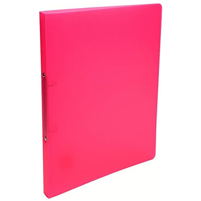 EXACOMPTA Ringbuch PP A4 2 Ring 20mm Chromaline pink