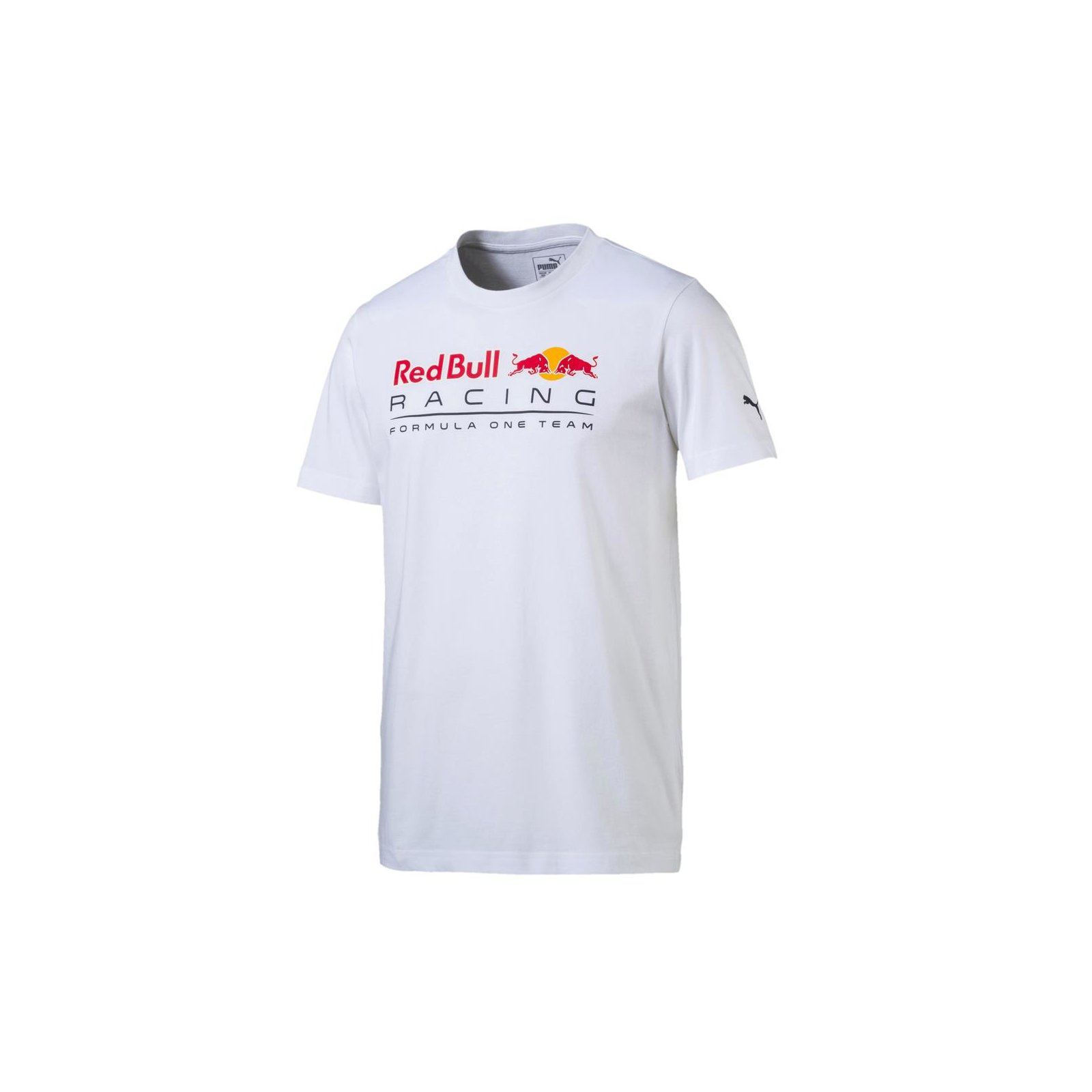 PUMA Red Bull Racing Logo Tee Light Puma White S