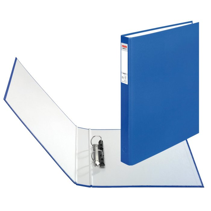 herlitz Ringbuch maX.file protect A4 2-Ring 40mm blau