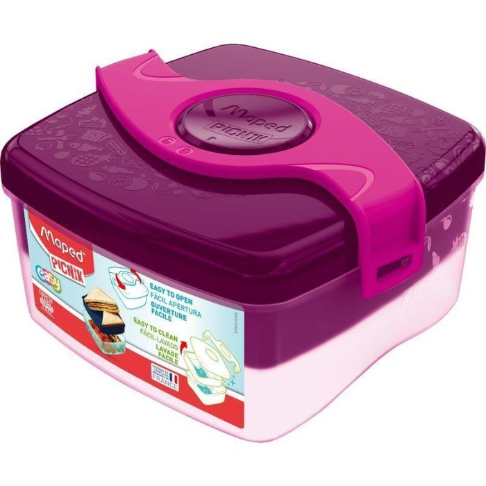 Maped PICNIK Brotdose ORIGINS LUNCH-BOX, pink