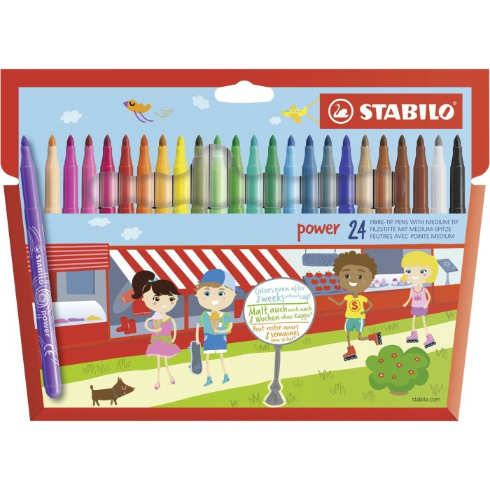STABILO power 24er Etui