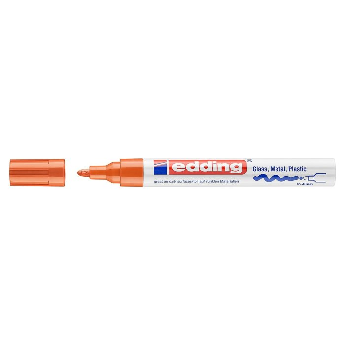 edding 750 Glanzlackmarker orange