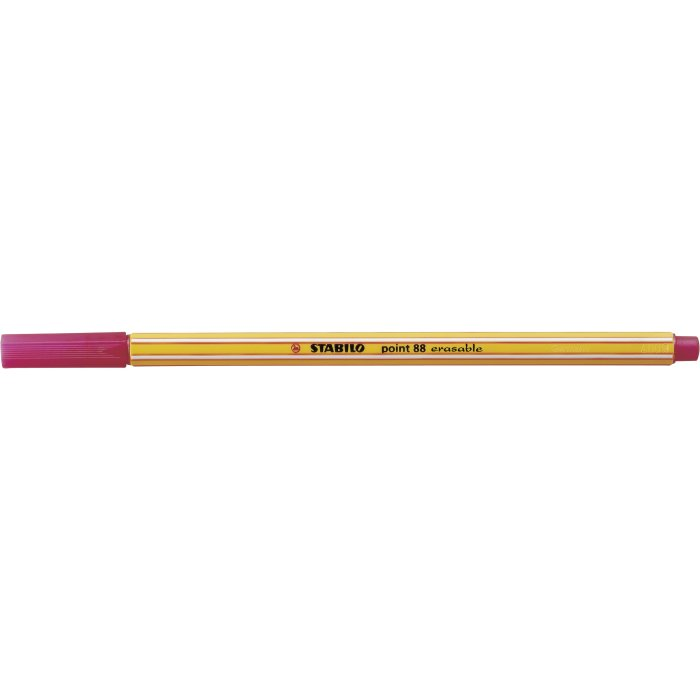 STABILO point 88 erasable rot 88/00-40