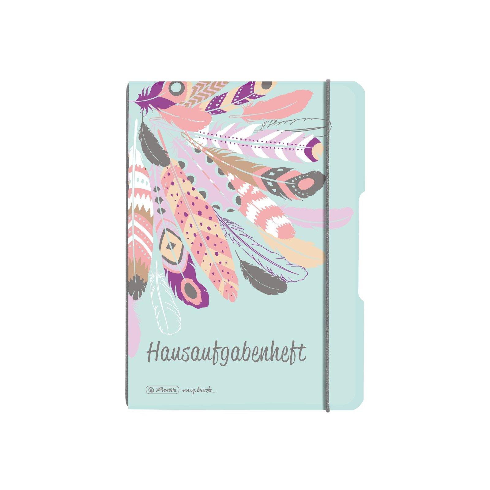 "Herlitz Hausaufgabenheft flex 48+20 Blatt PP Cover A5 /""Comic/"""