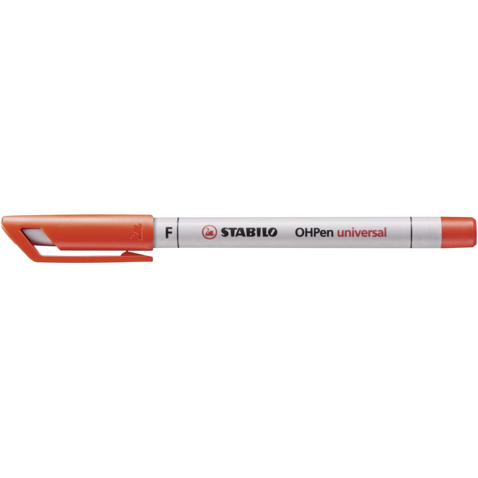 4er Etui wasserlöslich Stabilo® Folienschreiber OHPen universal Fein