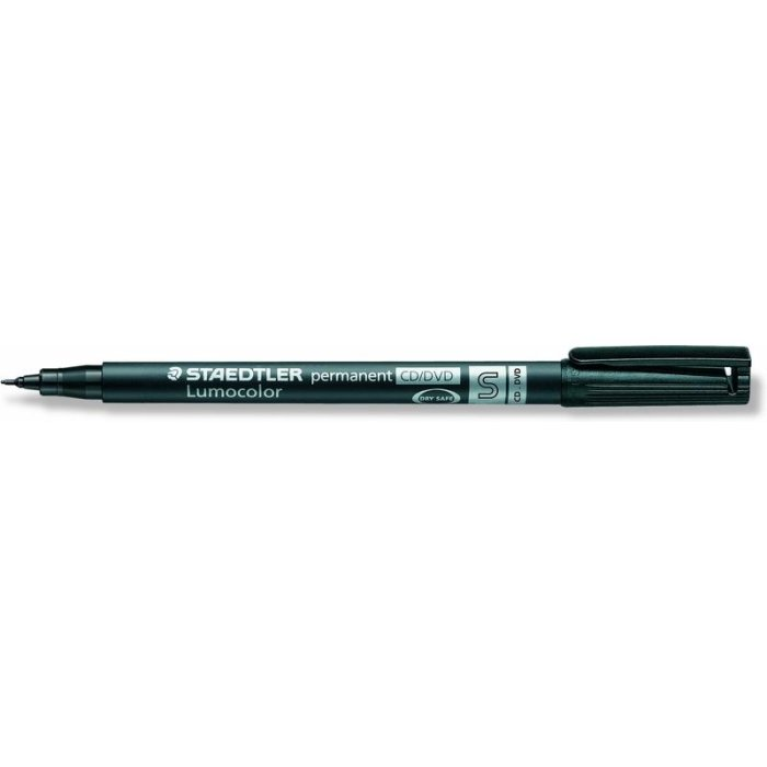 STAEDTLER Lumocolor permanent CD/DVD Stift schwarz