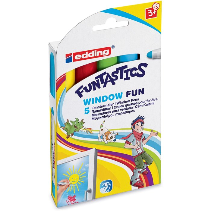 edding Funtastics 16 Window Fun 5er Set