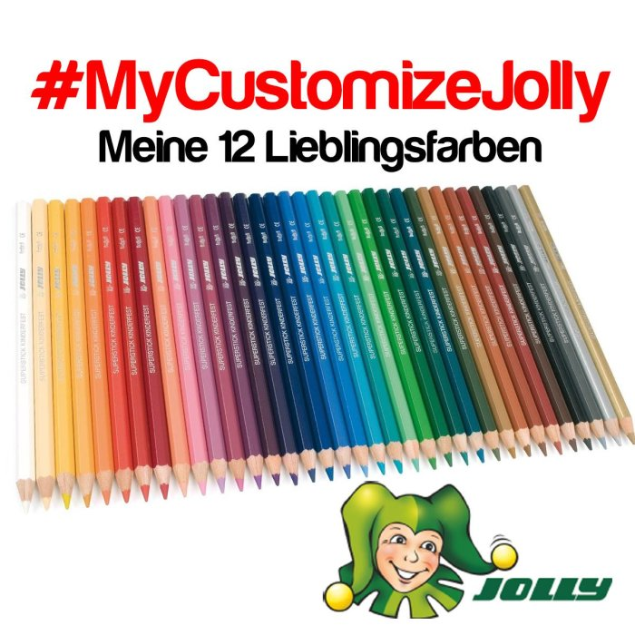 #MyCustomizeJolly Supersticks Classic 12er