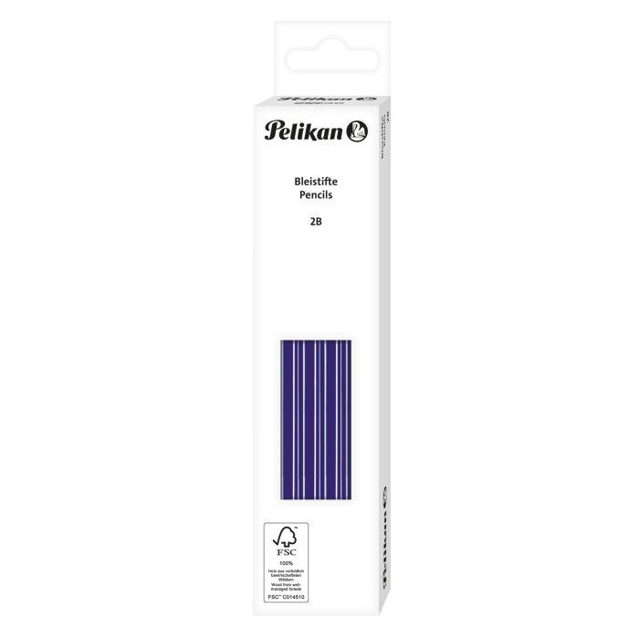 60 Pelikan Bleistifte blau lackiert
