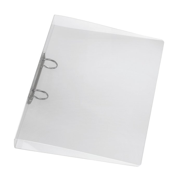 herlitz Ringbuch A4 PP 2-Ring 40mm transparent