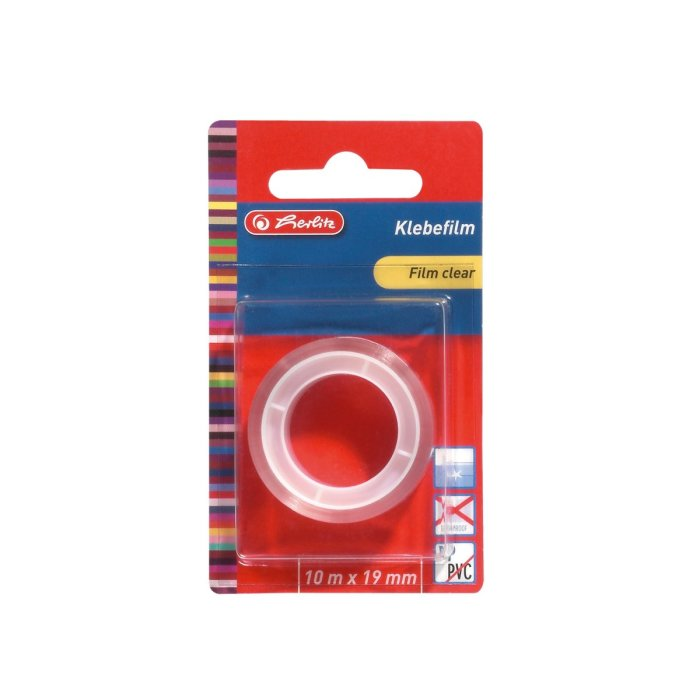 herlitz Klebefilm 10mx19mm transparent