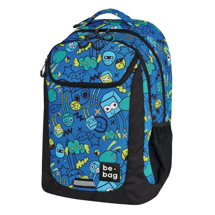 herlitz Schulrucksack be.bag be.active monster party