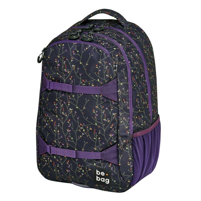 herlitz Schulrucksack be.bag be.explorer flower wall