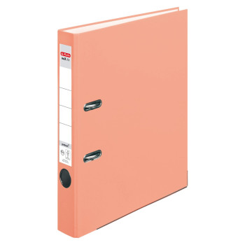 herlitz Ordner maX.file protect A4 50mm lachs