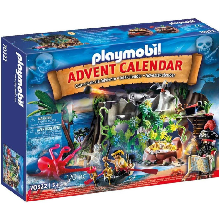 PLAYMOBIL Adventskalender Schatzsuche in der Piratenbucht