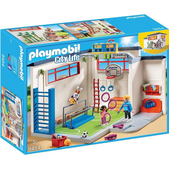 PLAYMOBIL City Life Turnhalle 9454