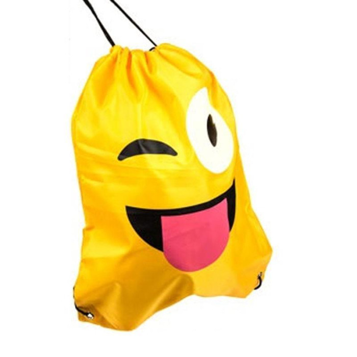 Smiley Turnbeutel 42 x 34 cm Zwinker