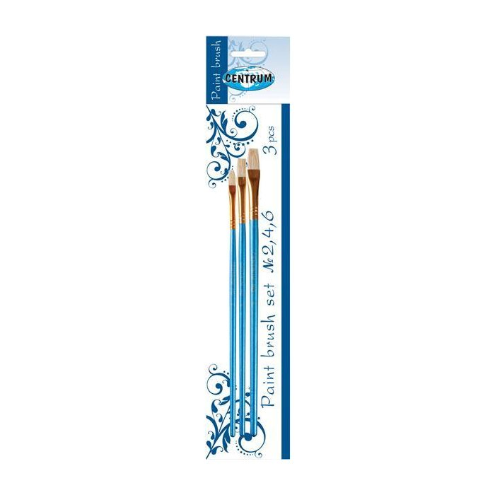 Centrum Artist Brushes Borstenpinsel Set 2,4,6  3-teilig
