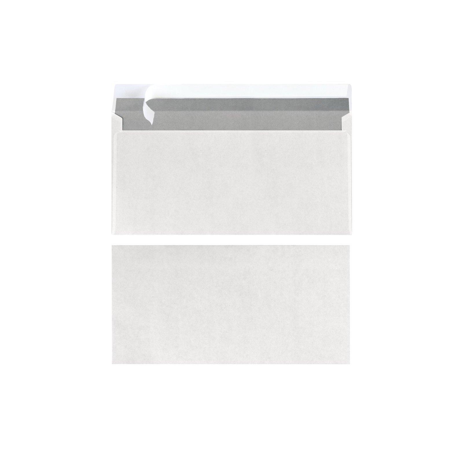 Herlitz Briefumschlag Din Lang Ohne Fenster Weiß 239