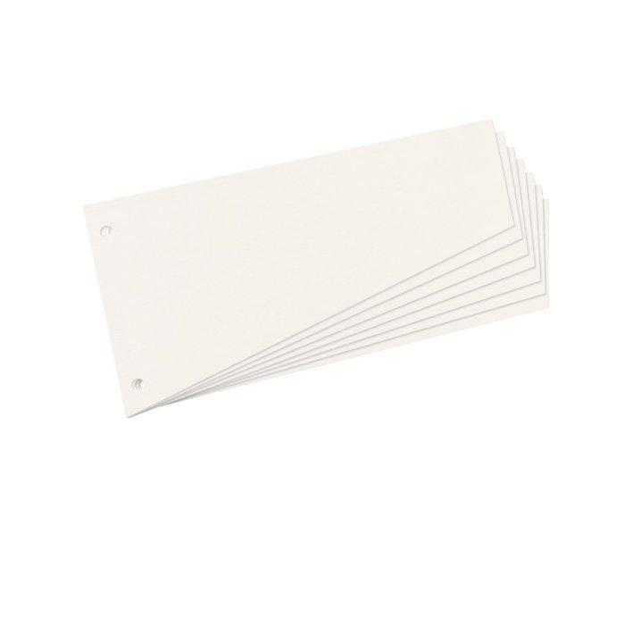 herlitz Trennstreifenblock für DIN A4 farbig  70 Blatt gelocht Trennblätter 190