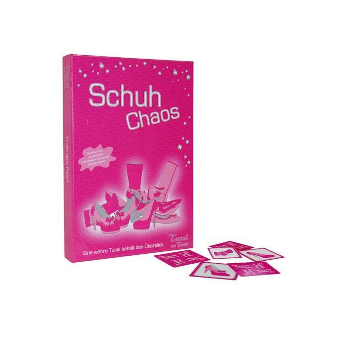 Tussi on Tour  Schuh Chaos - Memory Spiel