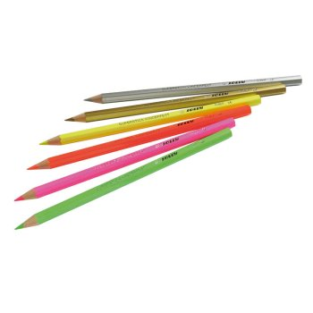 JOLLY Buntstifte Supersticks Extramix Neon/Silber/Gold