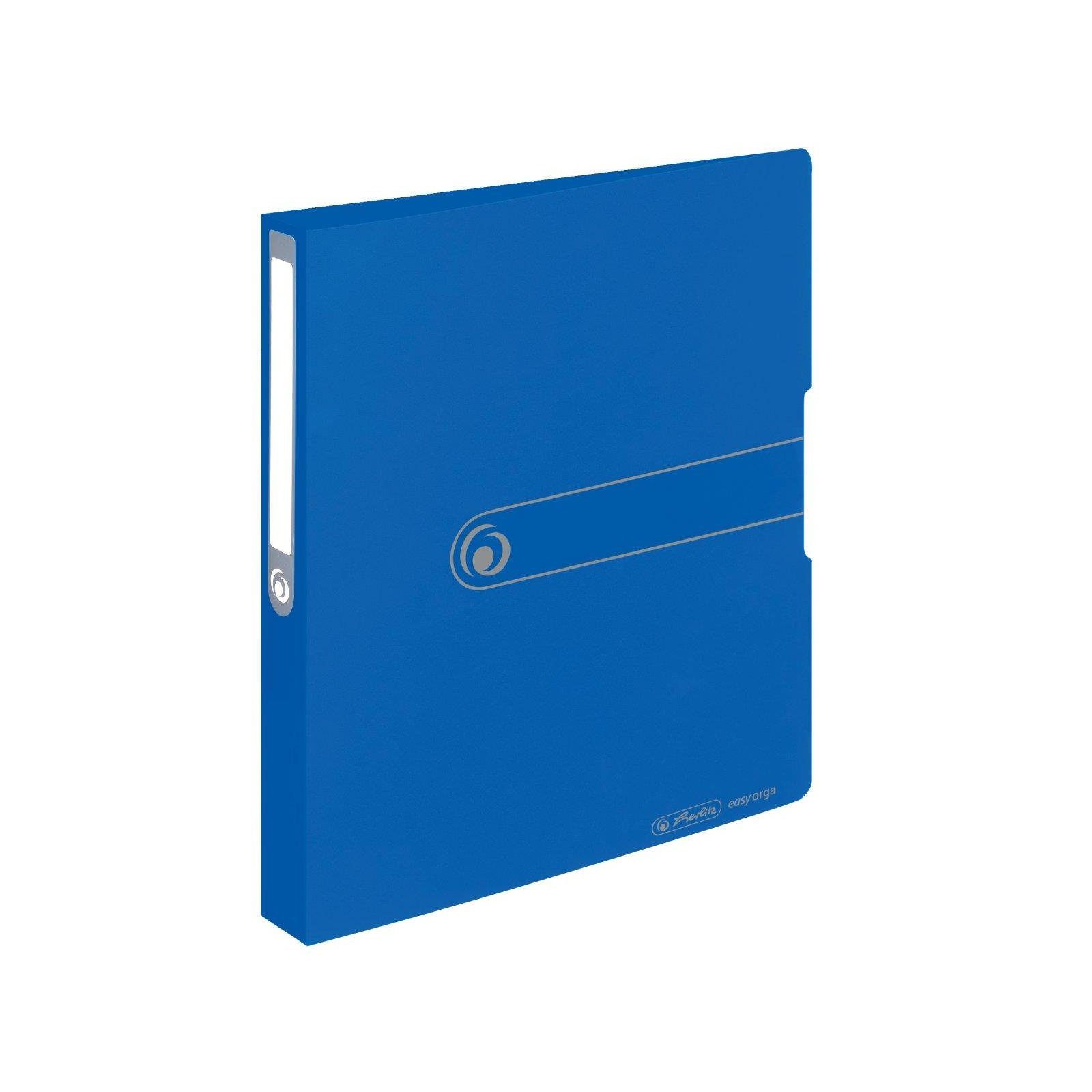 herlitz Ringbuch easy orga to go  A4 2-Ring 38mm blau opak