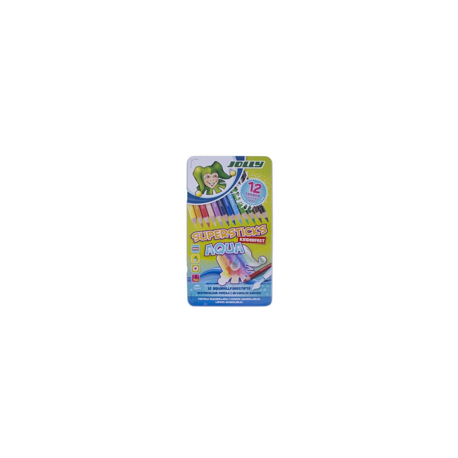 JOLLY Supersticks AQUA 12er Set