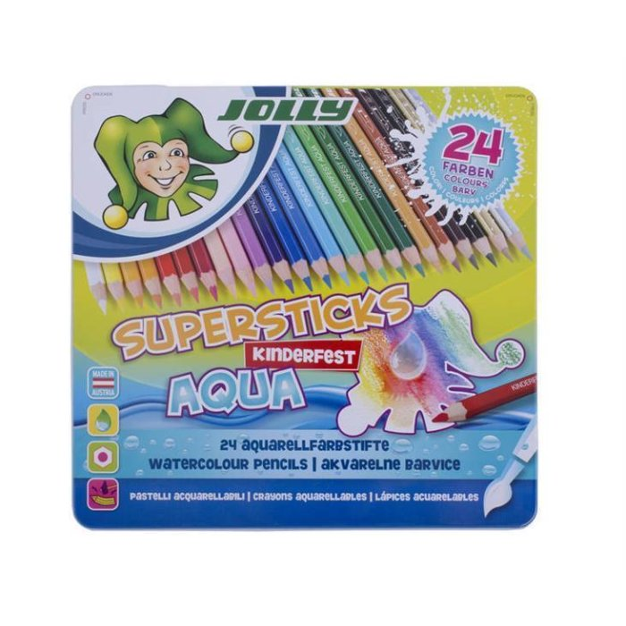 JOLLY Supersticks AQUA 24er Set