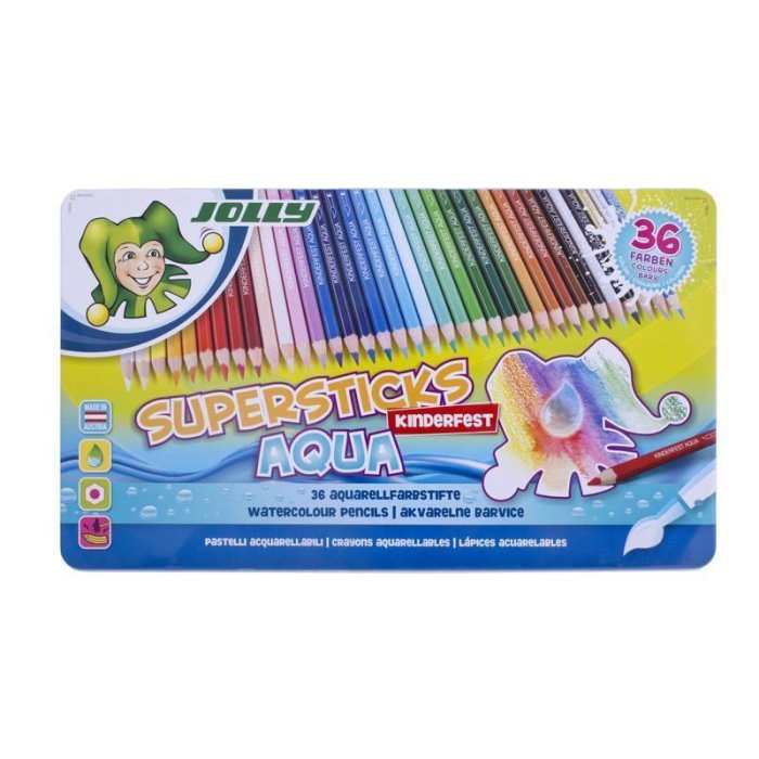 JOLLY Supersticks AQUA 36er Set