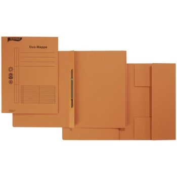 DONAU Combamappe Duo-Mappe A4 Karton orange
