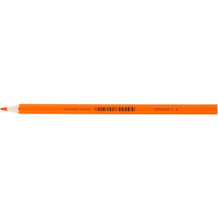 JOLLY Buntstift Supersticks Classic Einzelstift Orange = 4
