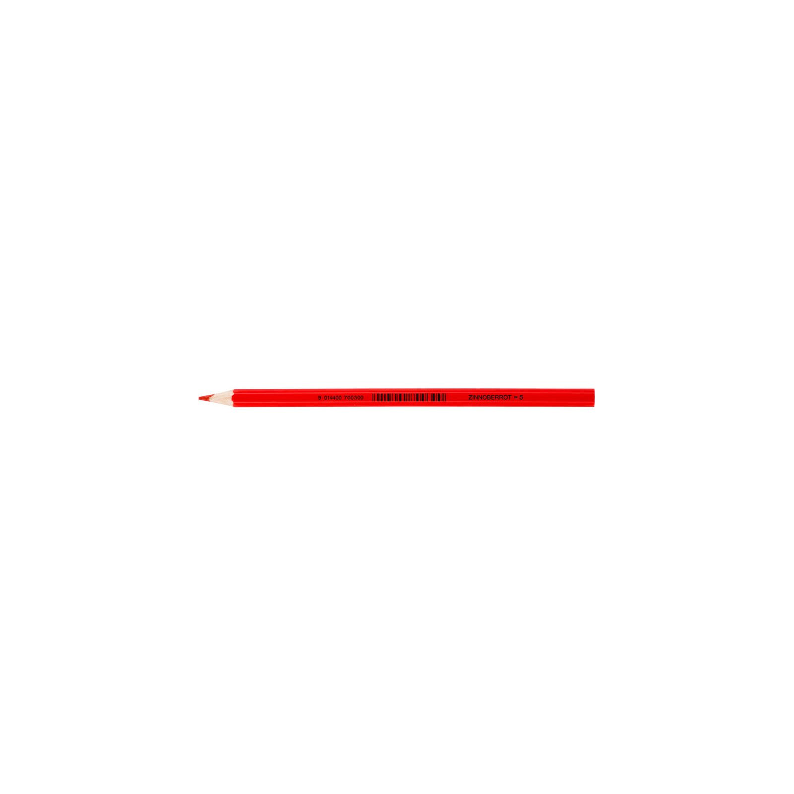 JOLLY Buntstift Supersticks Classic Einzelstift Zinnoberrot = 5
