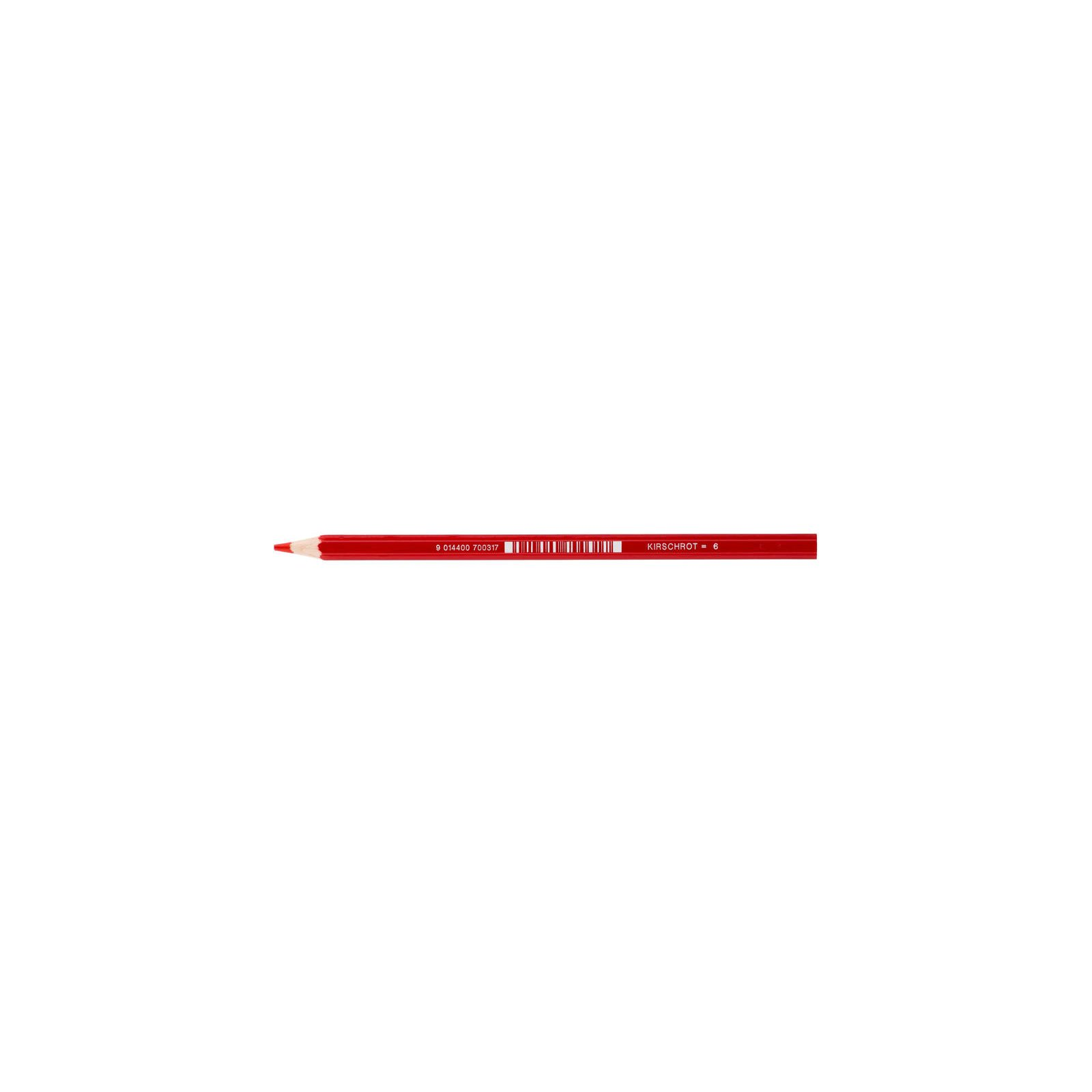 JOLLY Buntstift Supersticks Classic Einzelstift Kirschrot = 6