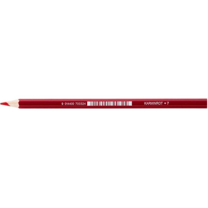 JOLLY Buntstift Supersticks Classic Einzelstift Karminrot...