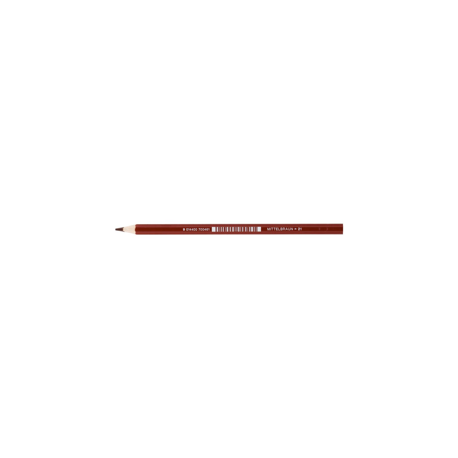 JOLLY Buntstift Supersticks Classic Einzelstift Mittelbraun = 21