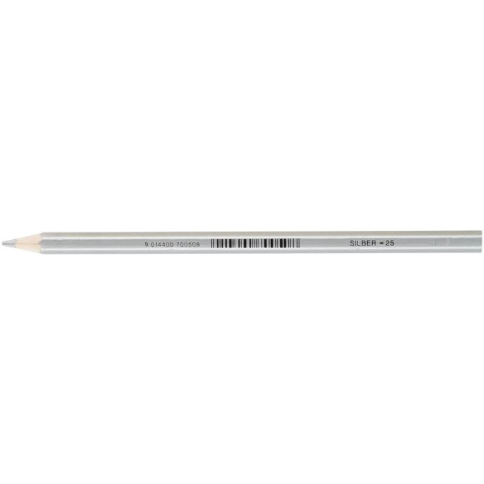 JOLLY Buntstift Supersticks Classic Einzelstift Silber = 25