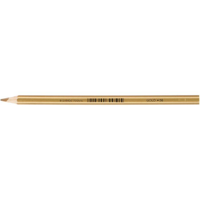 JOLLY Buntstift Supersticks Classic Einzelstift Gold = 26