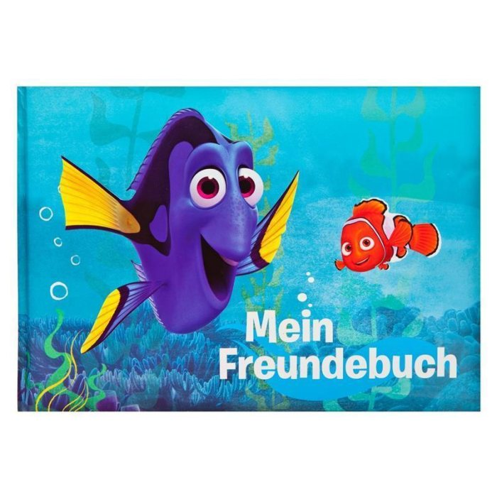 UNDERCOVER Findet Dory - Freundebuch