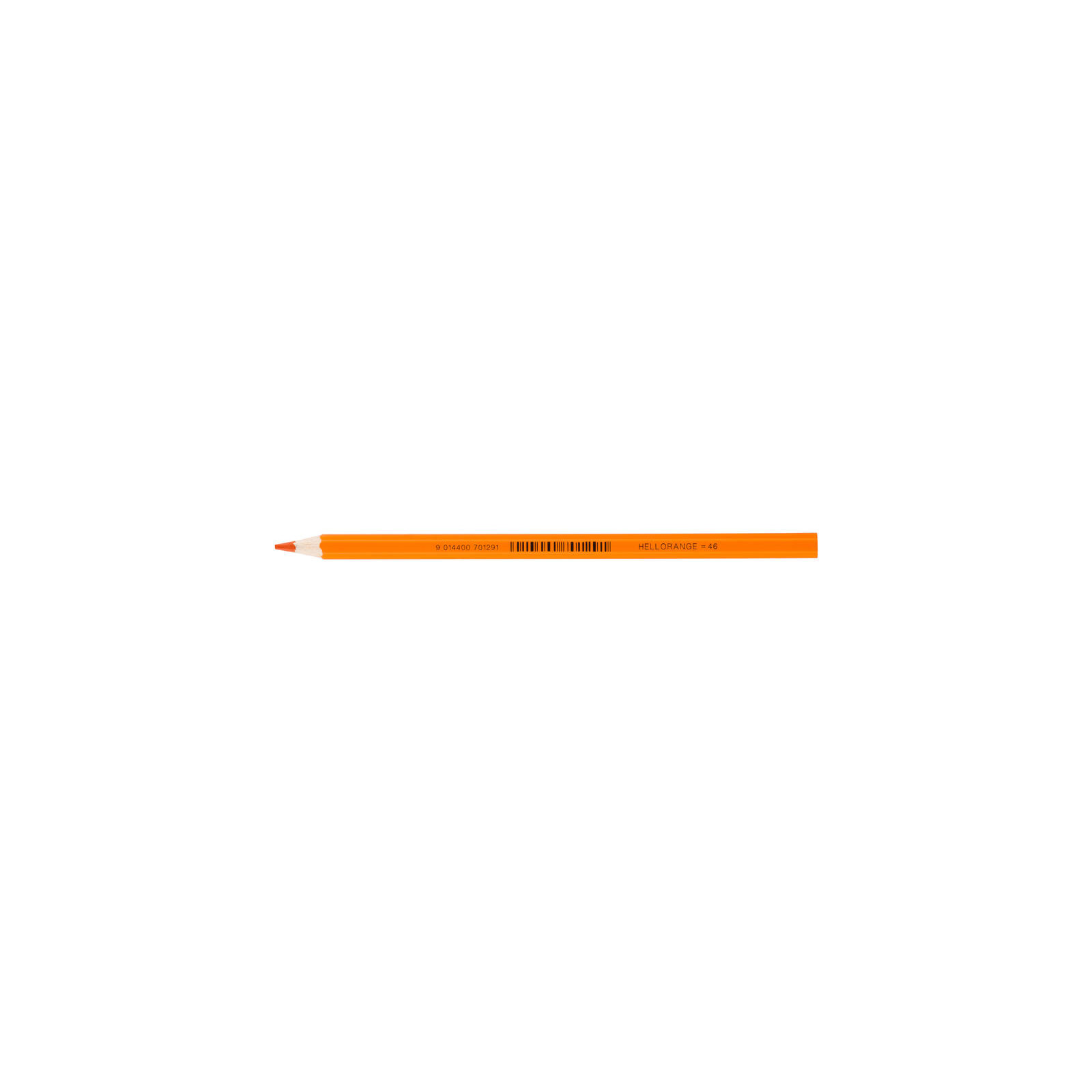 JOLLY Buntstift Supersticks Classic Einzelstift Hellorange = 46