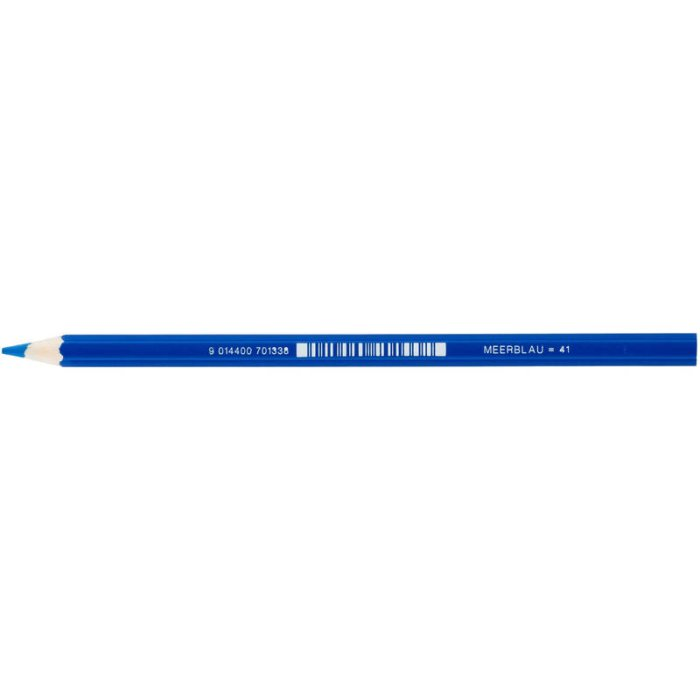 JOLLY Buntstift Supersticks Classic Einzelstift Meerblau...