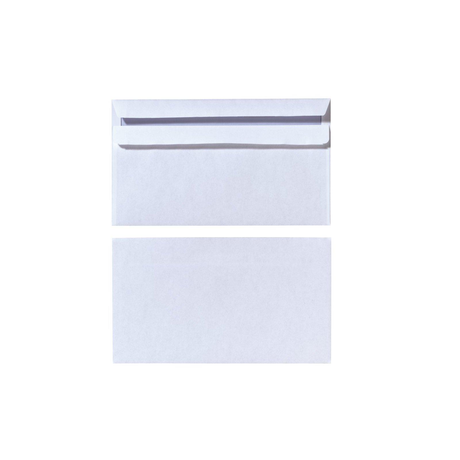 Herlitz Briefumschlag Din Lang Ohne Fenster Weiß 419