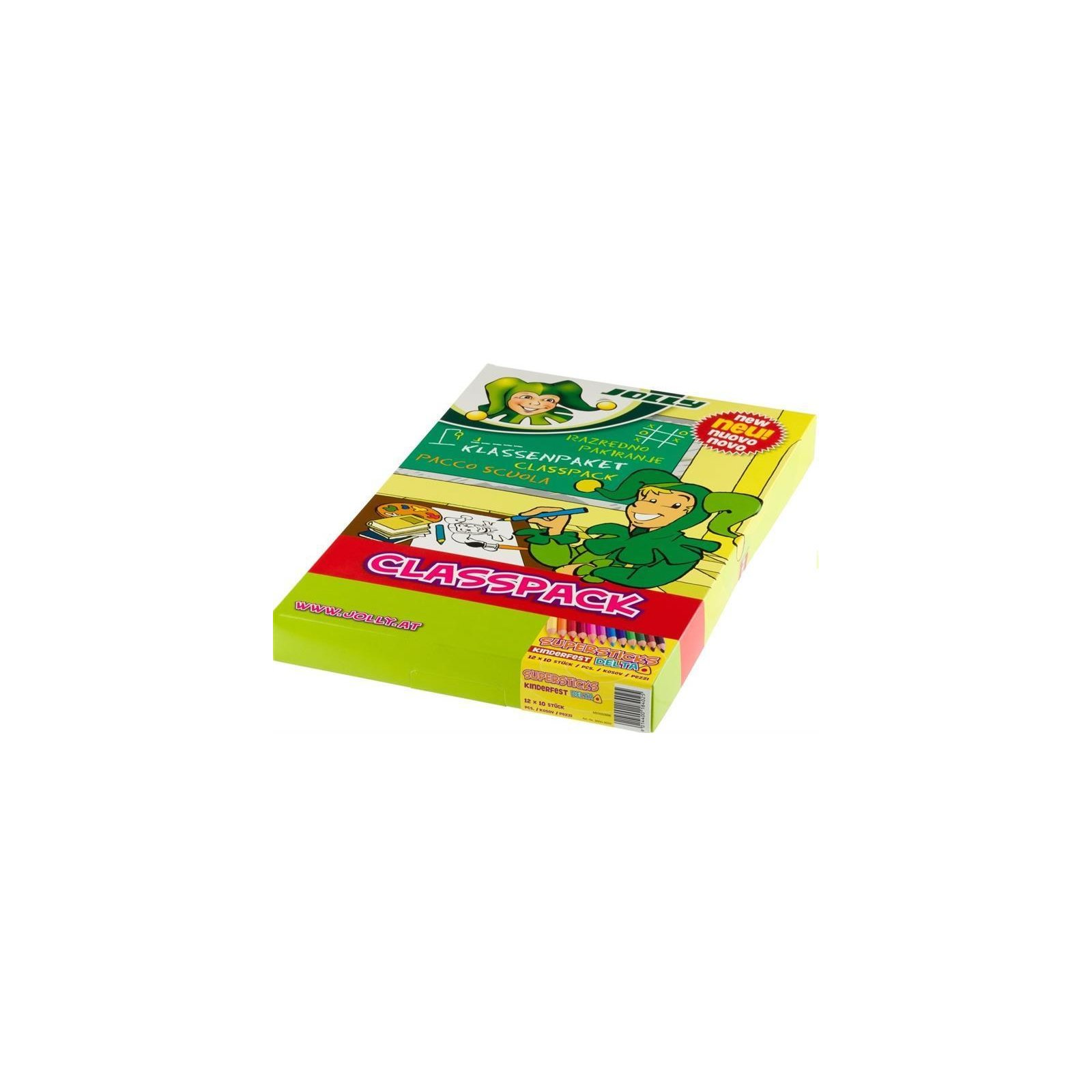 JOLLY Supersticks DELTA CLASSPACK 120er Grundfarben