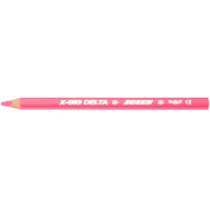 JOLLY X-BIG Delta Jumbo 3-kant Buntstift - Rosa