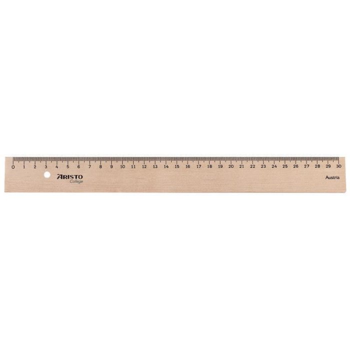 ARISTO College Holzlineal 30 cm (AR23330)